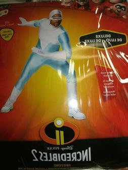 03989Disney Incredibles 2 Frozone Adult Men's Halloween Cost