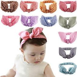 1 X Kids Girls Baby Hair Accessories with Bunny Ear Head Ban