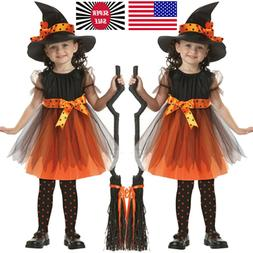 2-15T Toddler Kids Baby Girls Halloween Clothes Costume Part