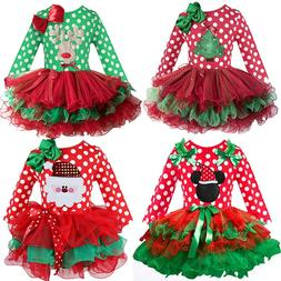 2-6T Santa Claus Christmas <font><b>Dress</b></font> <font><