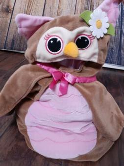 Koala Kids 2 PC Owl Costume Baby Halloween 6-9 Months Cape &