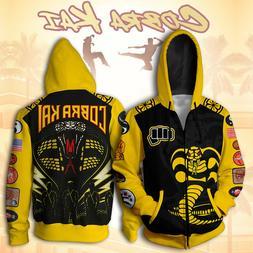 2019 New The Karate Kid Jacket Hoodies 3D Printed Cosplay Co