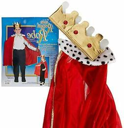 Beistle 60252 - Child King Or Queen Robe With Crown - 33 Inc