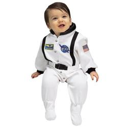 Aeromax Jr. Astronaut Suit with NASA patches and diaper snap