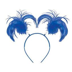 Amscan Feathers and Ponytails Headband Costume Party Headwea