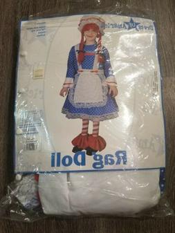 A Dress Up America Child Raggedy Ann Rag Doll Dress Hallowee