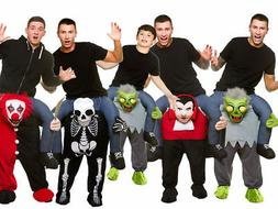 Adult Kids Halloween Fancy Dress Costume Novelty Fun Carry M