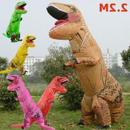 Adults Inflatable Dinosaur T-REX Costume Child Jurassic Hall