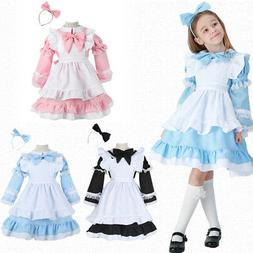 Alice in Wonderland Maid Costume Mother Daughter Dress Chris