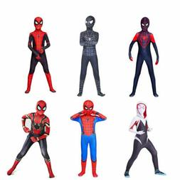 All Spider-Man Cosplay Costume Halloween Zentai Jumpsuits Fo