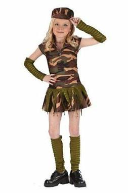 Fun World Army Brat Costume - Child Size Small 4-6