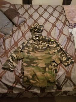 DRESS UP AMERICA ARMY COSTUME KIDS M 8-10