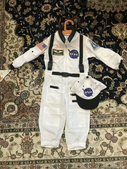 Aeromax Astronaut Costume Kids Size 2-3 Brand New
