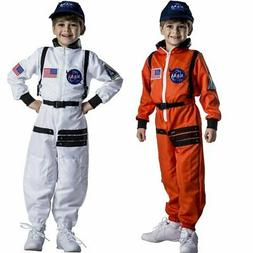Astronaut Costume for Kids – NASA Orange/White Space Suit