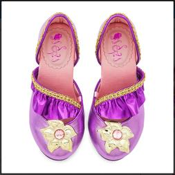 Disney Authentic Rapunzel Costume Shoes for Kids - Tangled -