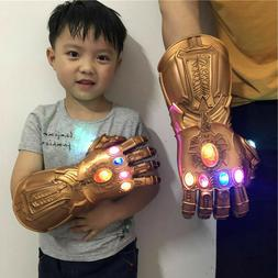 Avengers 4 Thanos Glove LED PVC Cosplay Thanos Infinity Gaun