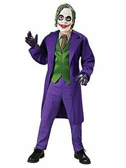 Batman The Dark Knight Deluxe The Joker Costume, Child's, As
