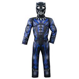 Marvel Black Panther Light-Up Costume for Kids Size 11/12