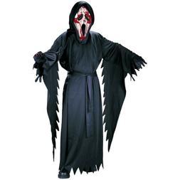 Fun World Bleeding Ghost Face Costume Kids Scream Halloween