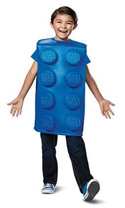 Disguise Blue Brick Child Costume, Blue, Large/