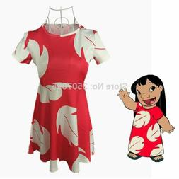Booking day Lilo & Stitch Girl Dress Fairy Tales A Line Dres