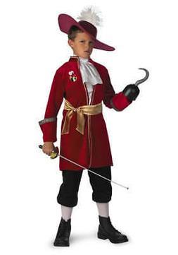 Boys Child Walt Disney Classics Peter Pan Captain Hook Pirat