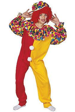 RG Costumes Boys Circus Clown Child Costume Jumpsuit and Hat