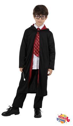 Boys Harry Potter Deluxe Cosplay Kids Costume Fancy Robe Acc