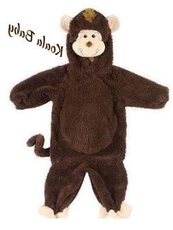 Koala Kids Boys Monkey Halloween Costume Brown Body Suit Tod