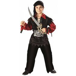 Boys Pirate Costume Kids Halloween Fancy Dress