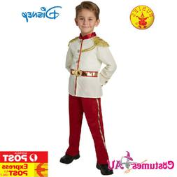 Boys Prince Charming Kids Costume Disney Child Royal Fairy T