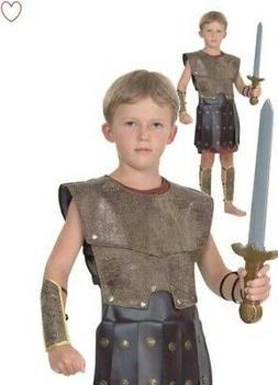 boys warrior roman fancy dress greek soldier