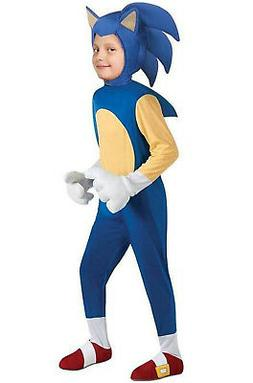 Brand New Sonic the Hedgehog Deluxe Child Halloween Costume