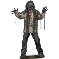 Fun World Burning Dead Zombie Costume for Kids