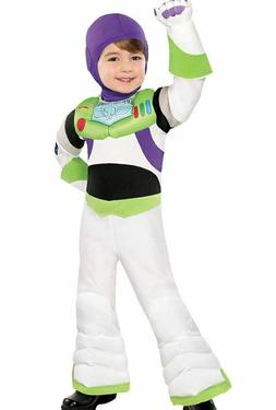Disney Buzz Lightyear Boy's SUIT WITH HOOD ONLY Costume Chil