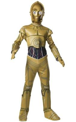 C-3PO Star Wars Classic Gold Droid Robot Fancy Dress Up Hall