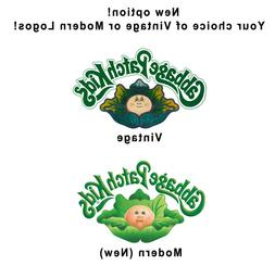 Cabbage Patch Kids Iron On Heat Transfer or Sticker for Baby