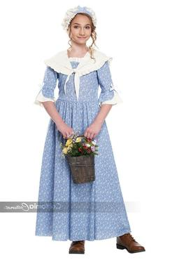California Costumes Colonial Village Girl Halloween Costume