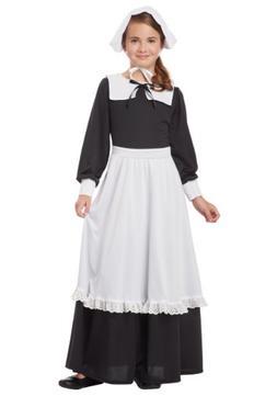 California Costumes Pilgrim Girl Child Costume Medium