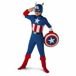 Captain America Classic Child Costume 7-8 Marvel Comics Disg
