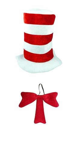 Cat in the Hat World Book Day Week Fancy Dress Costume Strip