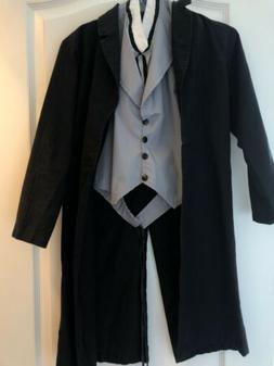 Child  Abraham Lincoln Halloween Costume Charades Size L