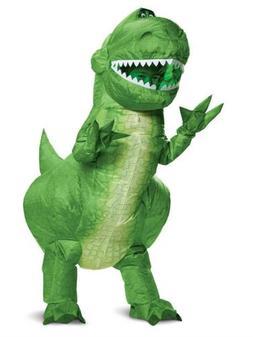 Child Boys Disney Toy Story 4 Rex Inflatable Dinosaur Hallow