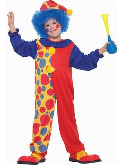 Child Boys Halloween Birthday Economy Clown Costume