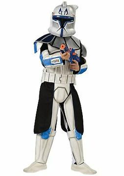 child deluxe blue clone trooper rex costume