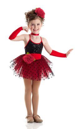 Child Extra Large BROADWAY BABY Dance Costume Dress Shirley