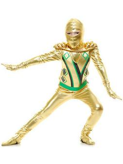 Child Gold Boys Ninja Avengers Series 3 Costume