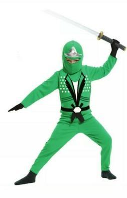 Charades Child Green Ninja Avengers Series 2 Costume size XS