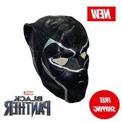 Child's Boys Black Panther Vibranium Armor Full Mask Costume