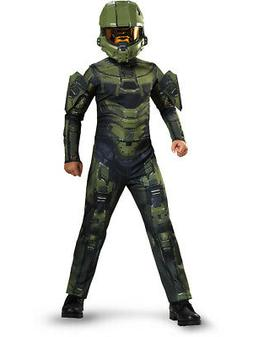 Child's Boys Master Chief Halo Classic Costume With Mask